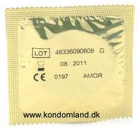 - 10 stk. AMOR - Natura/gleitsub. Kondomer