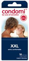 - 10 stk. CONDOMI - XXL Kondomer
